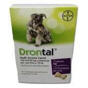 Bayer Spa (Div.Sanita'Animale) Drontal Multi Aroma Carne*2 Compresse