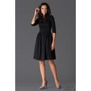 Black Sassy Full Swing Ruby Dress