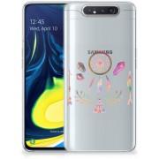 Samsung Galaxy A80 Telefoonhoesje met Naam Boho Dreamcatcher