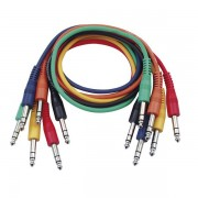 DAP Audio Patch kábel sztereo 30 cm 6 db