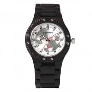 Bedate Chronograph Bamboo Ebony Wood Watch