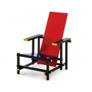 Designperte.it Novecento Poltrona Red and Blue G. T. Rietveld