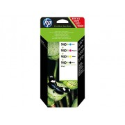 HP 940XL 4-pack High Yield Black/Cyan/Magenta/Yellow Original Ink Cartridges (C2N93AE)