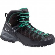 SALEWA Alp Trainer Mid GTX Women - black out/agata UK 4,5