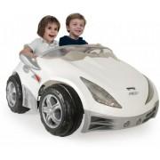 Injusa Vit racer Elbil 12V - Elbilar till barn 752