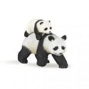 Figurina Papo - Panda cu pui