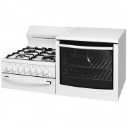 Westinghouse WDG101WBNGR Gas Freestanding 80L Stove/Oven