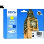 Cartridge Epson T7034 Yellow, WP 4000/4500