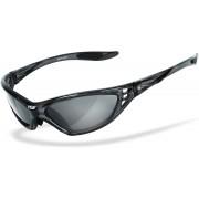 HSE SportEyes Speed Master 2 Sonnenbrille Schwarz Einheitsgröße