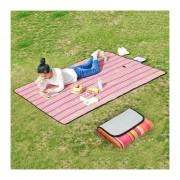 600D Oxford Tela Impermeable Plegable Al Aire Libre, Playa Camping Mat Picnic Manta, Tamaño: 150 * 180cm, Color Al Azar Entrega