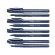ROLLER SCHNEIDER TOPBALL 857, 0,6 mm verde Roller Plastic Medie gri fara mecanism