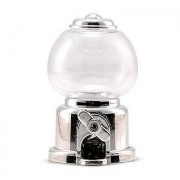 Confetti Mini Gumball Machine Party Favour - Silver (2)