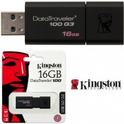 Pen Drive Kingston 3.0 Dt100 G3 16gb Negro Pendrive - NEGRO
