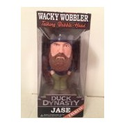 Wacky Wobbler Talking Bobble Head Duck Dynasty Jase