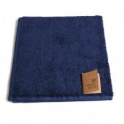Dille&Kamille Essuie-mains, coton bio, bleu, 50 x 50 cm