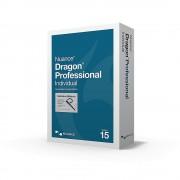 Nuance Dragon ProfessionalIndividual Individual 15 pełna wersja z bezprzewodowym zestawem słuchawkowym