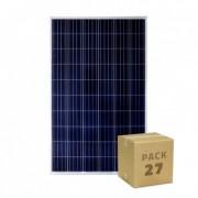 efectoled.com Pack Panel Solar Fotovoltaico Policristalino 275W Clase A (27 un)
