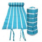 Texty strandmatrac, türkizkék