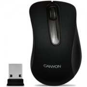 Мишка CANYON Mouse CNE-CMSW2 (Wireless, Optical 800 dpi, 3 btn, USB), Black, CNE-CMSW2
