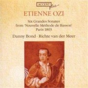 Video Delta Ozi,Etienne - Six Grandes Sonates From - CD