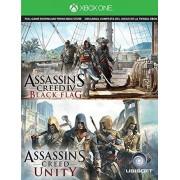 Ubisoft, Microsoft Assassin's Creed IV Black Flag & Assassin's Creed Unity Digital [Xbox One] Download Card 2 Game Bundle