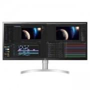 Монитор LG 34WL850-W, 34 инча WQHD (3440 x 1440) Nano IPS Display, 5ms, 1ms, CR 1000:1, 350 cd/m2, 21:9, HDR 10
