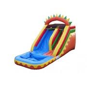 JumpOrange 14' Dino Fun Xtreme Water Slide