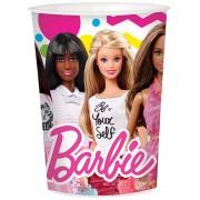 Barbie óriás pohár