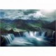 Fototapet cascada 390 x 260 cm - Hartie blueback fara adeziv