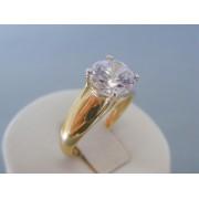 Zlatý dámsky prsteň žlté zlato zirkón VP57514Z 14 karátov 585/1000 5.14g