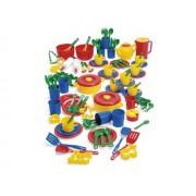 Leksaksmat-set, 100 delar