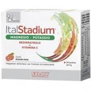 Italstadium magnesio potassio resveratrolo vitamina c gusto 24 bustine