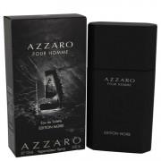 Azzaro Pour Homme Edition Noire Eau De Toilette Spray By Azzaro 3.4 oz Eau De Toilette Spray