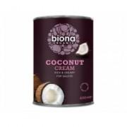 Crema de cocos la cutie bio 400gr BIONA ORGANIC