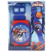 Marvel Spiderman wandklok 92 cm