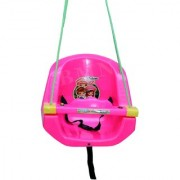 Baby Swing with Horn and Music. (Pink)