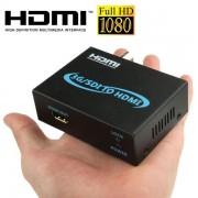 Full HD Output 1080P SDI To HDMI Converter 3G-SDI to HDMI for Driving Monitor, Model: AY-3501(Black)
