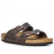 BIRKENSTOCK Schuhe Herren, Glattleder, violett