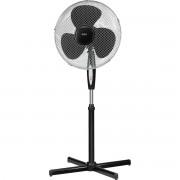 AEG VL 5668 - Ventilador de pie oscilante, 40 cm, temporizador 7,5 horas, 3 velocidades, mando a distancia, color negro