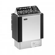Estufa para sauna - 6 kW - de 30 a 110 °C - cubierta de acero inoxidable
