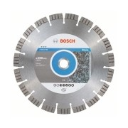 Bosch - Best for Stone - Disc diamantat de taiere segmentat, 300x25.4x2.8 mm, taiere uscata