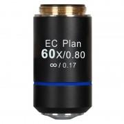 Objectif Motic EC PL, CCIS, plan, achro, 60x/0.80, S, w.d. 0.35mm (BA-210)
