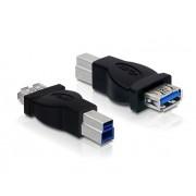 65179 ADAPTADOR USB 3.0 TIPO B MACHO A TIPO A HEMBRA