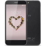 "Telefon Mobil ZTE Blade A512, Procesor Quad-Core 1,4GHz, LCD IPS capacitive touchscreen 5.2"", 2GB RAM, 16GB Flash, 13MP, Wi-Fi, 4G, Dual Sim, Android (Negru) + Cartela SIM Orange PrePay, 6 euro credit, 4 GB internet 4G, 2,000 minute nationale si internati"