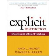 Explicit Instruction Effective and Efficient Teaching