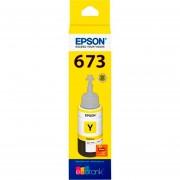 Botella Tinta EPSON T673 L800 L805 L810 L850 L1800 Amarillo