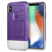 Carcasa Spigen Classic C1 iPhone X/Xs Grape