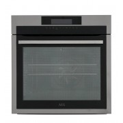 AEG BPE642020M Single Built In Electric Oven - Stainless Steel