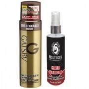 Mister Beard Hair Serum With Gatsby Ultra Hard Spray