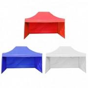Pavilion pliabil de gradina 2.5 x 2.5m cu 3 pereti